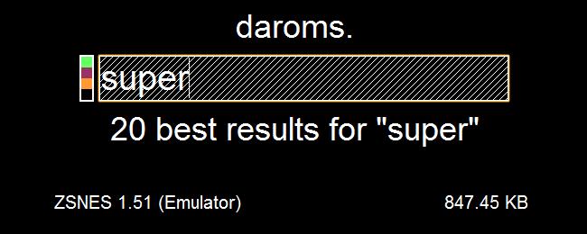 DaRoms minimal redesign