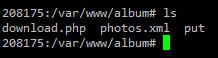 Get album files